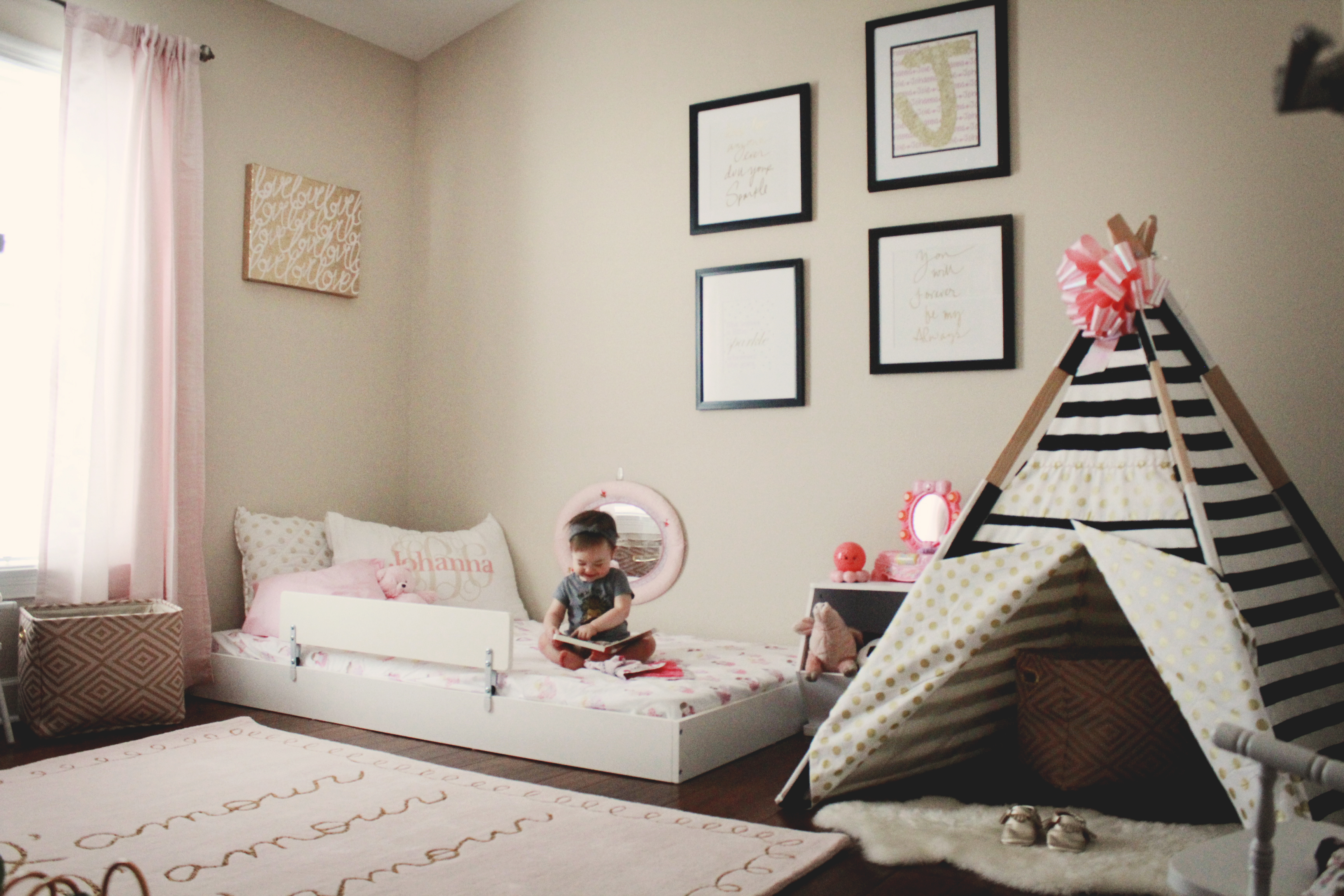 Johanna's Montessori Style [Big Girl] Bedroom – Coastal Kids ...